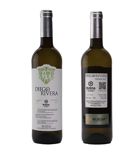 Diego rivera verdejo - Vino de pesuqera de duero